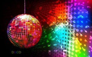 rainbow-disco-ball