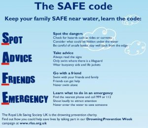 Water safety SAFE